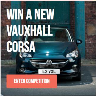 First Car – Win a Vauxhall Corsa