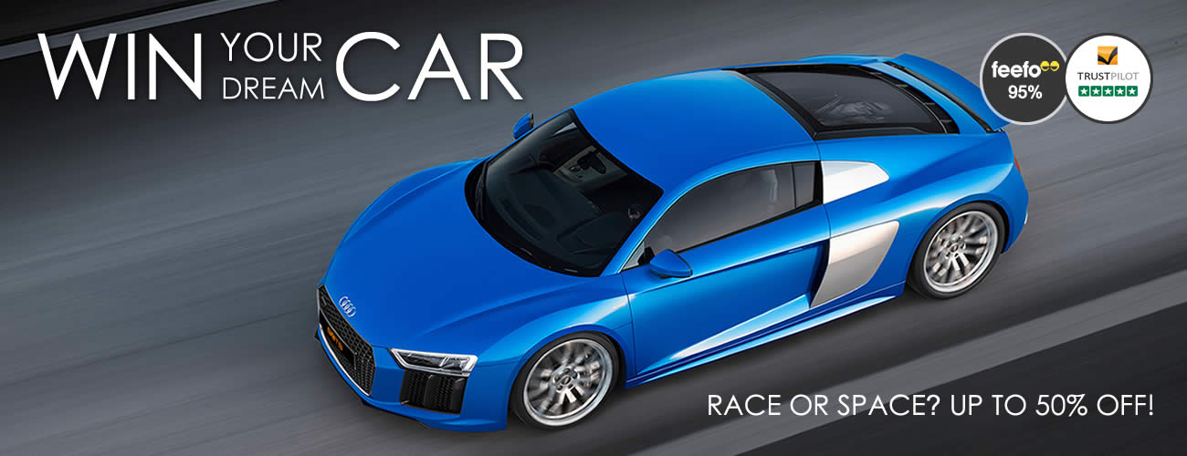Win with BOTB - Audi R8 Discount 50%
