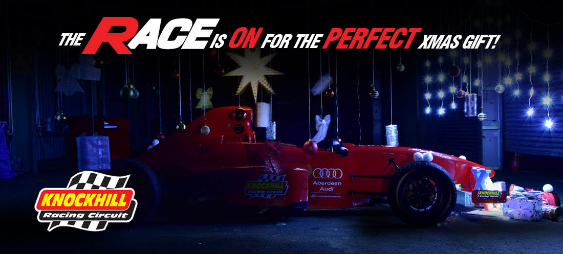 Win A Formula Race Car Experience and £250 cash with Knockhill Racing Circuit!