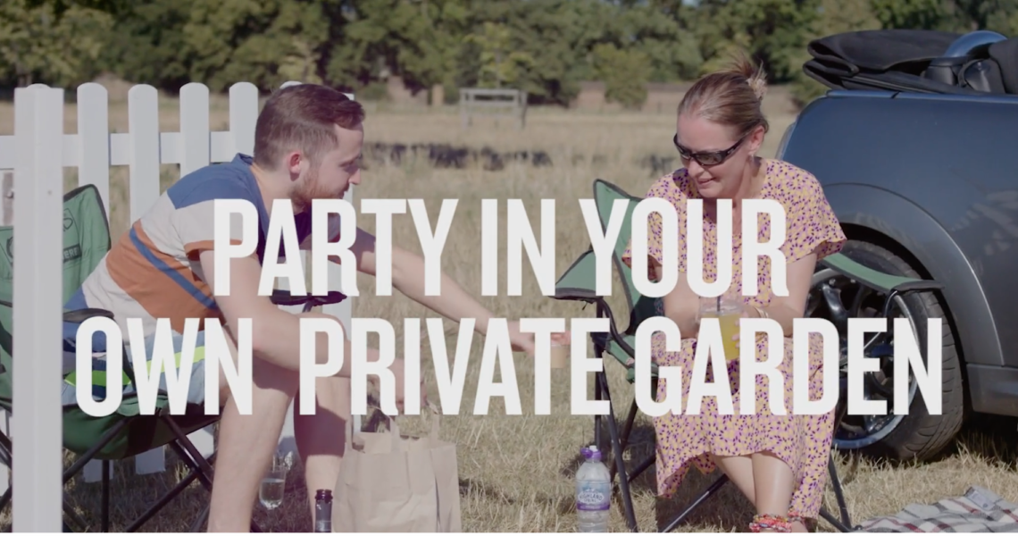 WIN a car pass to Pub in the Park's Drive In Garden Party!