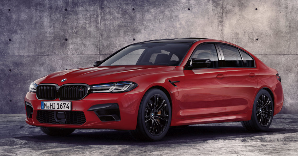 BOTB Add the new BMW M5 Competition